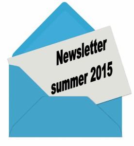 newsletter summer 2015